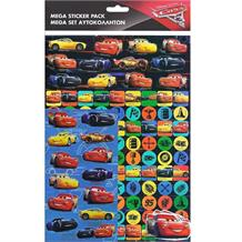 Disney Cars 3 Mega Sticker Pack 150 Stickers