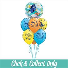 Disney Finding Dory Inflated 7 Balloon Bubble Bouquet