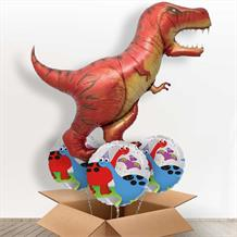 T Rex | Dinosaur Giant Shaped Balloon in a Box Gift
