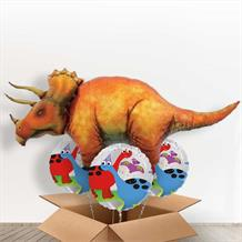 Triceratops | Dinosaur Giant Shaped Balloon in a Box Gift