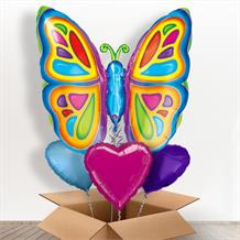 Butterfly Giant Shaped Balloon in a Box Gift