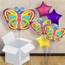 "Butterfly Shaped 18"" Balloon in a Box"