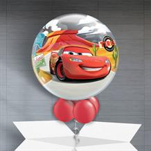 "Disney Lightning McQueen & Tow Mater 22"" Bubble Balloon in a Box"