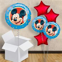 "Mickey Mouse Blue 18"" Balloon in a Box"