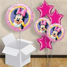 "Minnie Mouse Portrait 18"" Balloon in a Box"