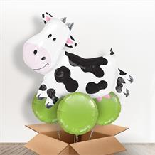 Cow Giant Shaped Balloon in a Box Gift