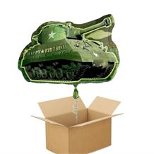 Army Camouflage Giant Shaped Balloon in a Box Gift