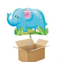 Elephant Giant Shaped Balloon in a Box Gift
