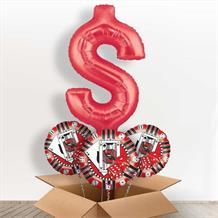 Dollar $ Casino Giant Shaped Balloon in a Box Gift