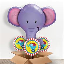Elephant Head Giant Shaped Balloon in a Box Gift