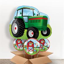 Tractor Giant Shaped Balloon in a Box Gift