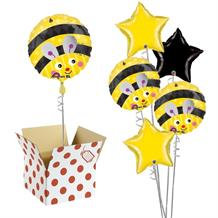 "Bumble Bee 18"" Balloon in a Box"