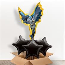Batman Cartoon Giant Shaped Balloon in a Box Gift