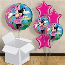 "Minnie Mouse Happy Birthday 18"" Balloon in a Box"