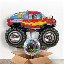 Monster Truck Giant Balloon in a Box Gift