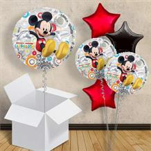"Mickey Mouse Silver 18"" Balloon in a Box"