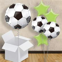"Football 18"" Balloon in a Box (Design 1)"