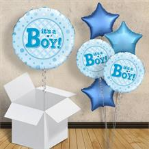 "It's a Boy | Baby Shower 18"" Balloon in a Box"