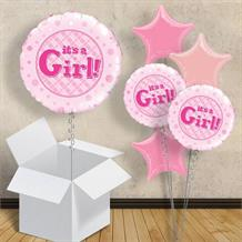 "It's a Girl | Baby Shower 18"" Balloon in a Box"