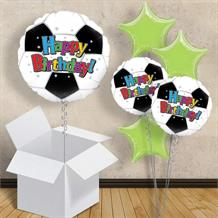 "Football Happy Birthday 18"" Balloon in a Box"