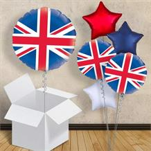 "Great Britain Union Flag 18"" Balloon in a Box"