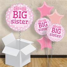 "Big Sister | Baby Shower 18"" Balloon in a Box"