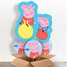 Peppa Pig and George Giant Shaped Balloon in a Box Gift