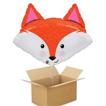Fox Giant Shaped Balloon in a Box Gift