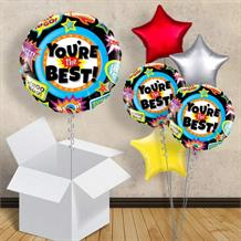 "You're the Best | Whoo Hoo 18"" Balloon in a Box"