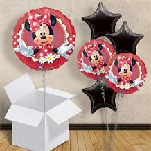"Minnie Mouse Red Polka Dot 18"" Balloon in a Box"
