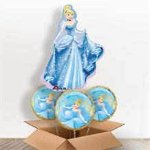 Cinderella Giant Shaped Balloon in a Box Gift