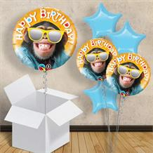 "Cool Monkey Happy Birthday 18"" Balloon in a Box"