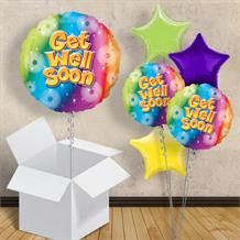 "Get Well Soon 18"" Balloon in a Box"