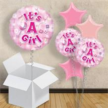 "It's a Baby Girl | Baby Shower 18"" Balloon in a Box"