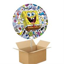 SpongeBob SquarePants Patterns | Icons Giant Shaped Balloon in a Box Gift