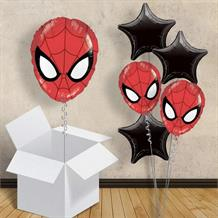 "Ultimate Spiderman Head Shaped 18"" Balloon in a Box"