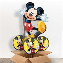 Mickey Mouse Giant Shaped Balloon in a Box Gift
