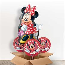 Minnie Mouse Giant Shaped Balloon in a Box Gift