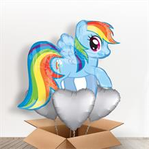 My Little Pony Rainbow Dash Giant Shaped Balloon in a Box Gift