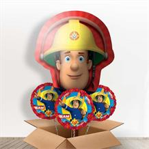 Fireman Sam Giant Shaped Balloon in a Box Gift