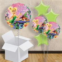 "Tinkerbell Pink Birthday 18"" Balloon in a Box"