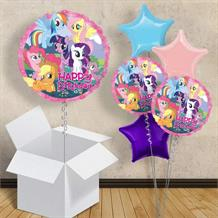 "My Little Pony Happy Birthday 18"" Balloon in a Box"