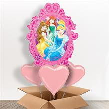 Disney Princess Mirror Giant Shaped Balloon in a Box Gift
