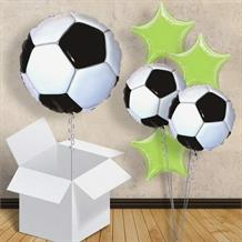 "Football 18"" Balloon in a Box (Design 2)"