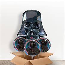 Darth Vader Head Giant Shaped Balloon in a Box Gift