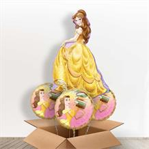 Princess Belle Giant Shaped Balloon in a Box Gift