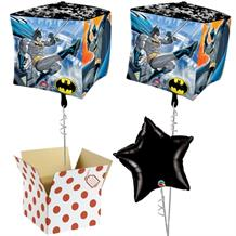 "Batman Cubez 15"" Cube Balloon in a Box"