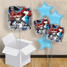 "Transformers Happy Birthday 18"" Balloon in a Box"