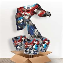 Transformers Optimus Prime Giant Shaped Balloon in a Box Gift