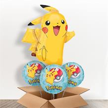Pokemon | Pikachu Giant Shaped Balloon in a Box Gift